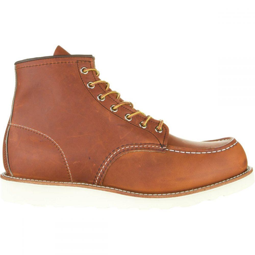 レッドウィング Red Wing Heritage メンズ ブーツ シューズ・靴【Classic 6in Moc Boot】Oro Legacy Leather