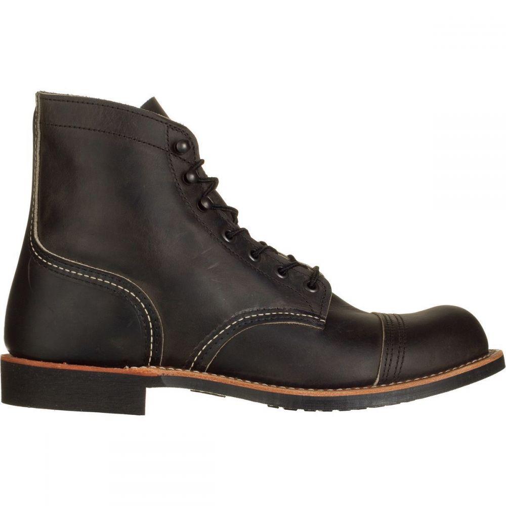 レッドウィング Red Wing Heritage メンズ ブーツ シューズ・靴【Iron Ranger 6in Boot】Charcoal Rough/Tough Leather