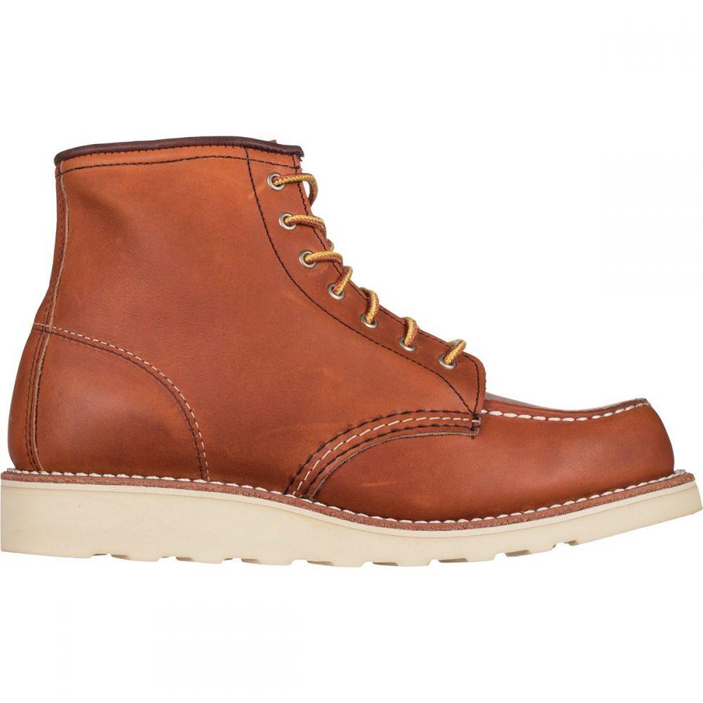 レッドウィング Red Wing Heritage レディース ブーツ シューズ・靴【Classic Moc 6in Boot】Oro Legacy Leather