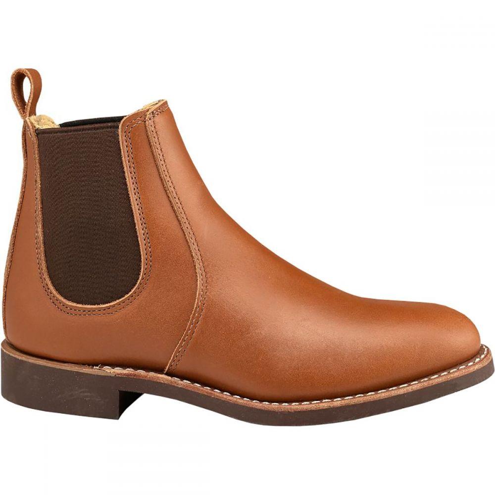 レッドウィング Red Wing Heritage レディース ブーツ チェルシーブーツ シューズ・靴【Chelsea 6in Boot】Pecan Boundary Leather