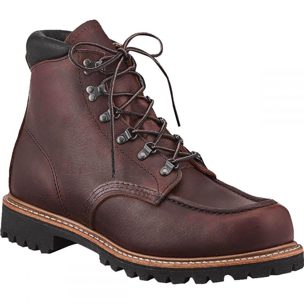 レッドウィング Red Wing Heritage メンズ ブーツ シューズ・靴【Sawmill 6in Boot】Briar Oil Slick Leather