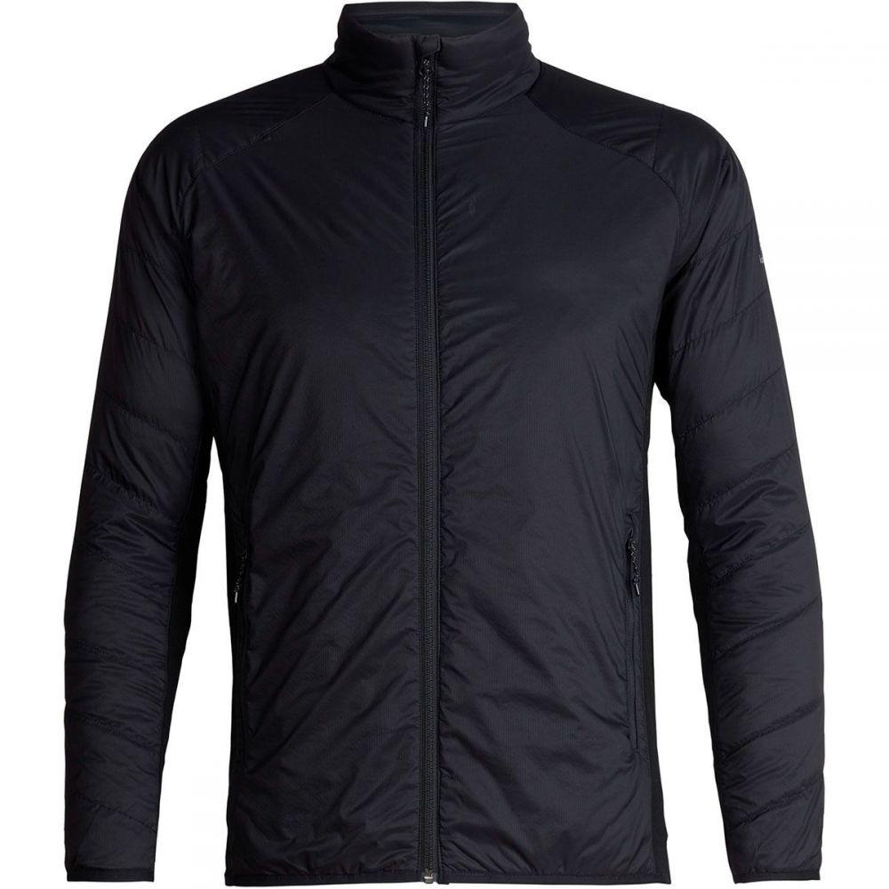 アイスブレーカー Icebreaker メンズ ダウン・中綿ジャケット アウター【Hyperia Lite Hybrid Jacket】Black