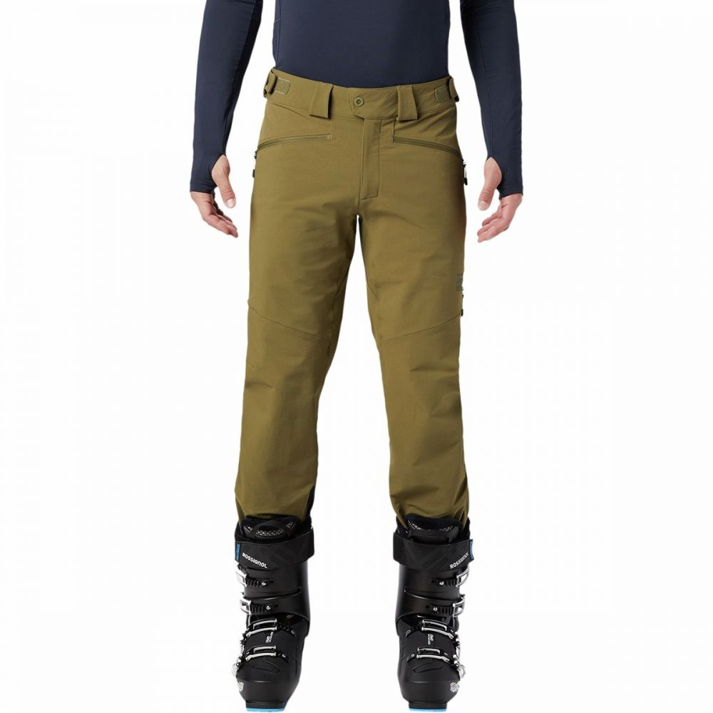 マウンテンハードウェア Mountain Hardwear メンズ ボトムス・パンツ ソフトシェル【Mount Mackenzie Softshell Pant】Combat Green