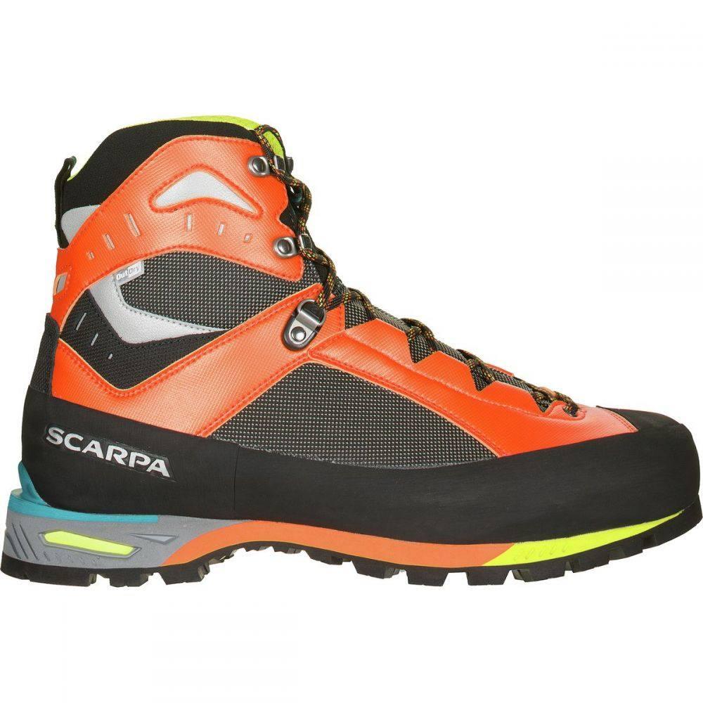 スカルパ Scarpa メンズ ハイキング・登山 登山靴 シューズ・靴【Charmoz Mountaineering Boot】Shark/オレンジ