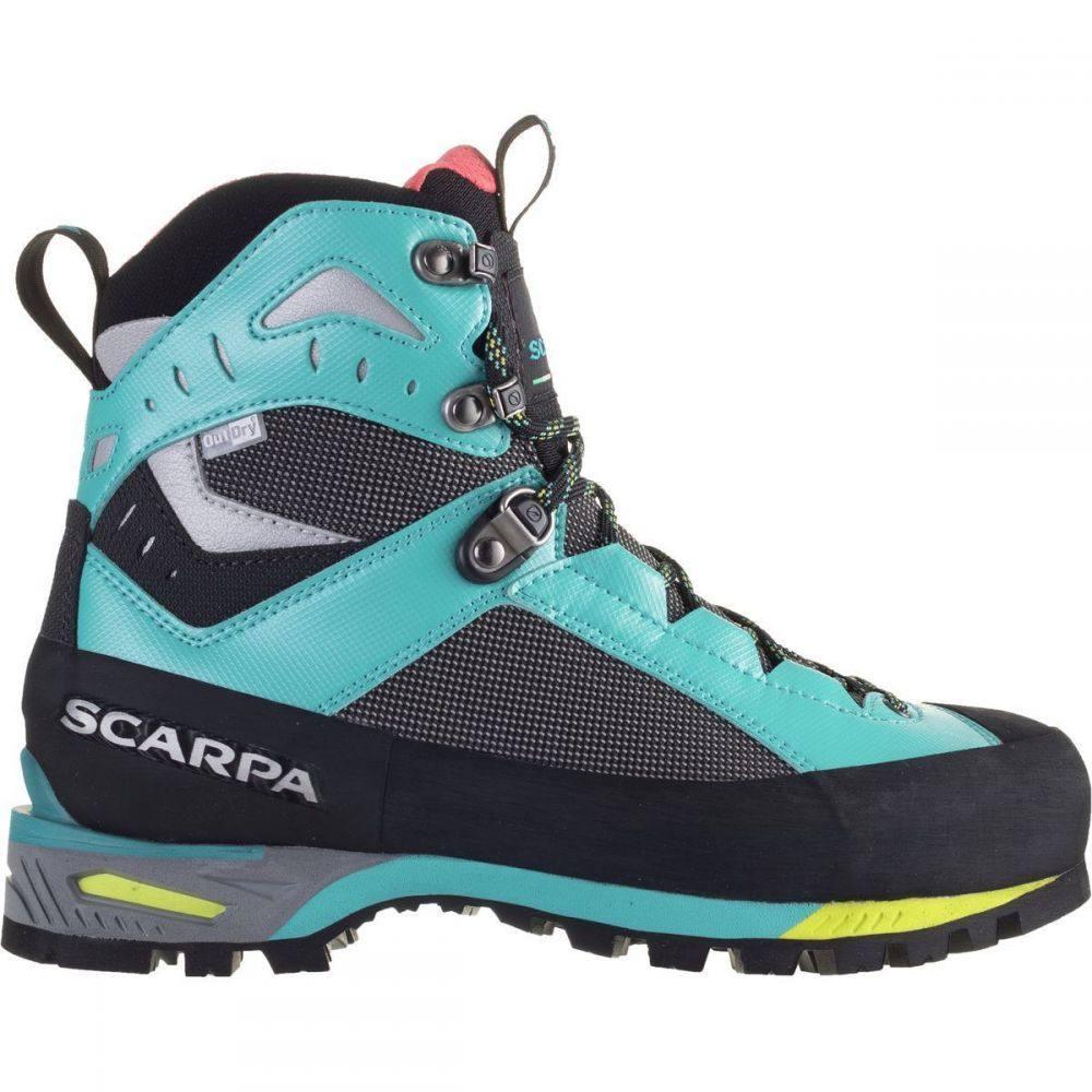 スカルパ Scarpa レディース ハイキング・登山 登山靴 シューズ・靴【Charmoz Mountaineering Boot】Shark/Maldive