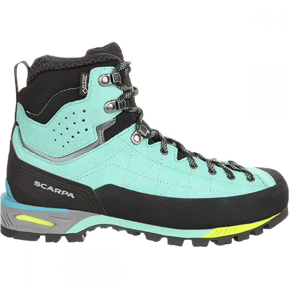 スカルパ Scarpa レディース ハイキング・登山 登山靴 シューズ・靴【Zodiac Tech GTX Mountaineering Boot】Green Blue