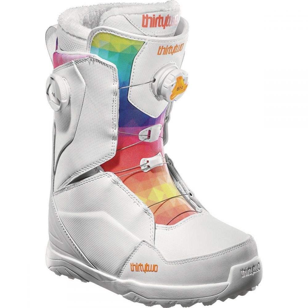 サーティーツー ThirtyTwo レディース スキー・スノーボード ブーツ シューズ・靴【Lashed Double BOA Snowboard Boot】White