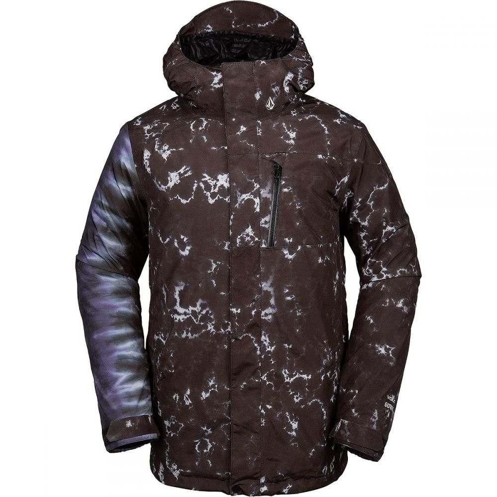 ボルコム Volcom メンズ スキー・スノーボード ジャケット アウター【L Gore - Tex Jacket】Black Print