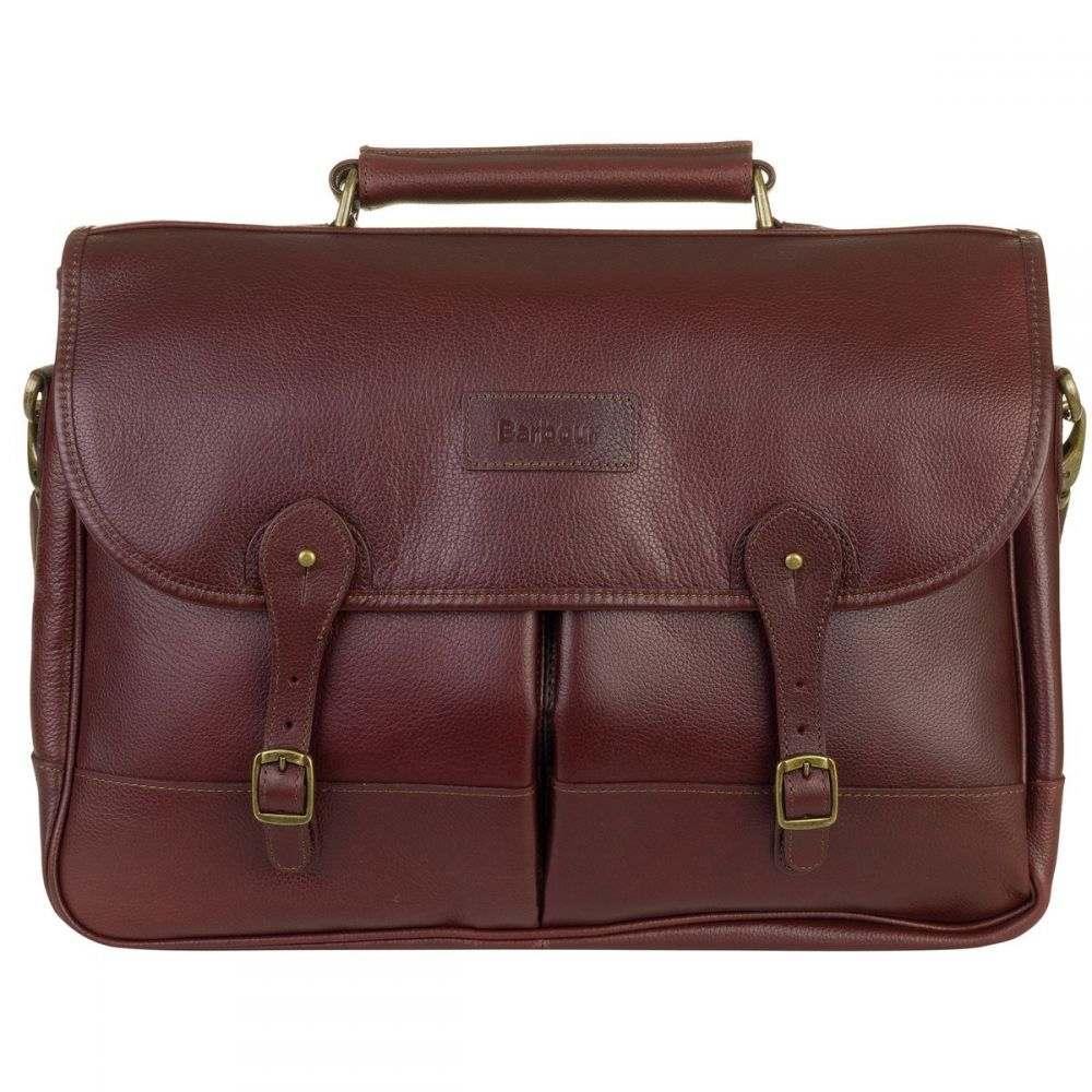 バブアー Barbour レディース バッグ 【Leather Briefcase】Brown