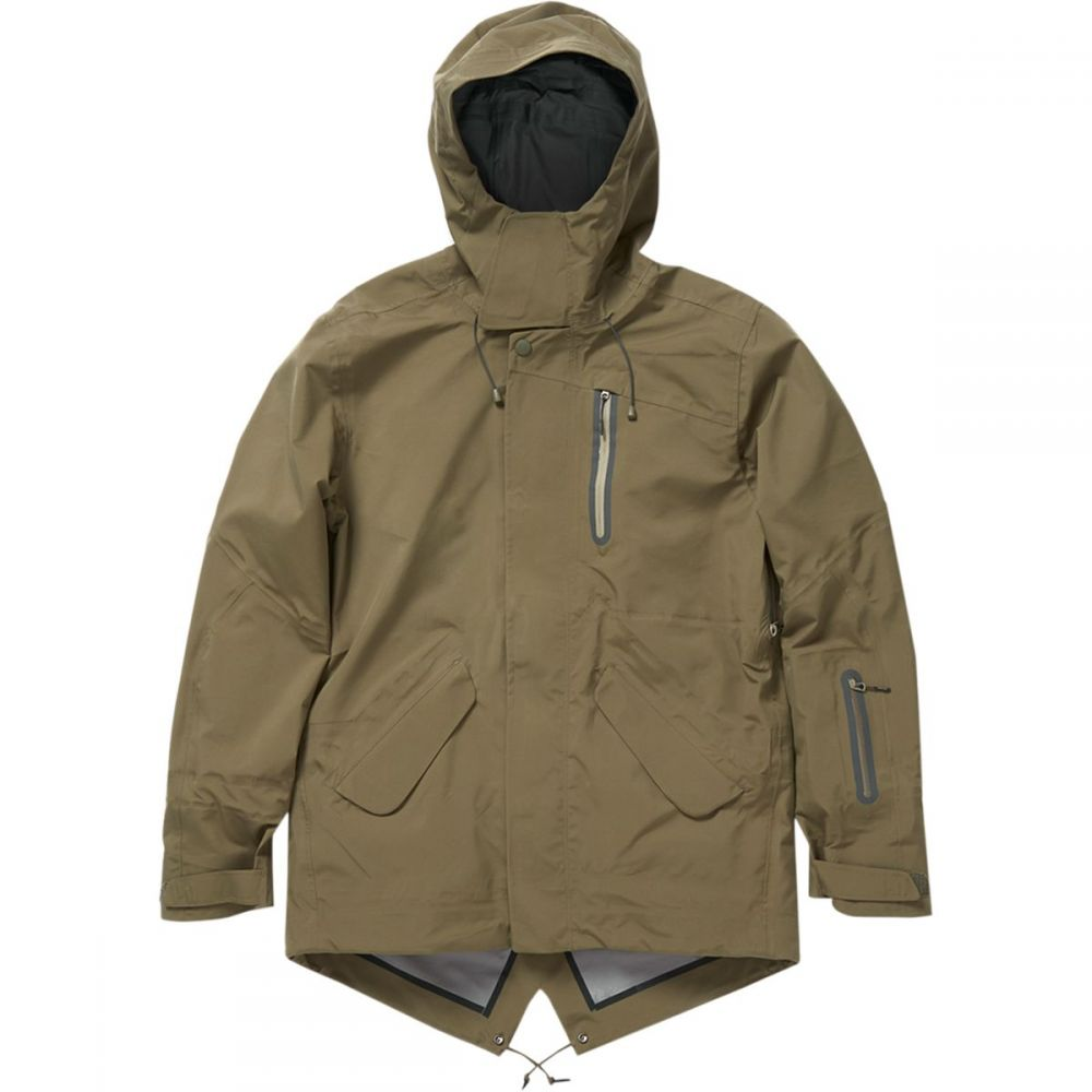 ホールデン Holden メンズ スキー・スノーボード ジャケット アウター【M - 51 3 - Layer Fishtail Jacket】Stone Green