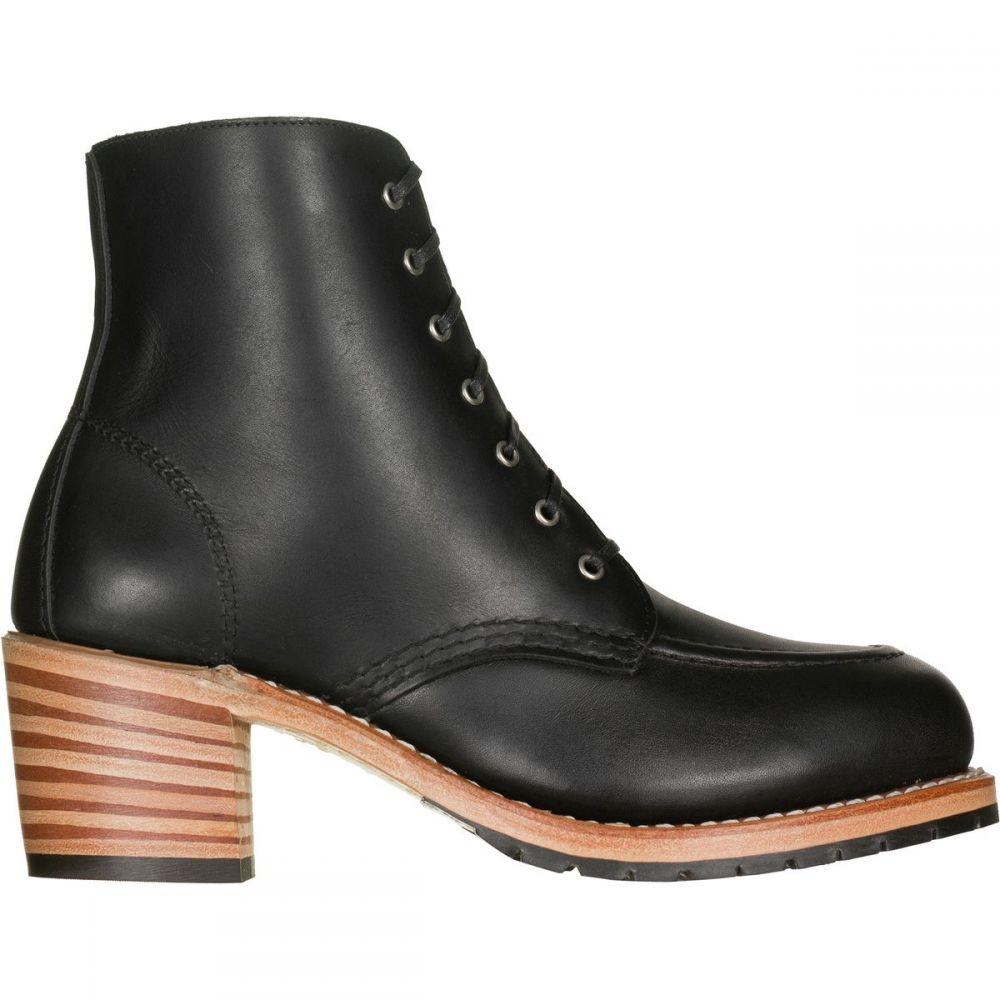 レッドウィング Red Wing Heritage レディース ブーツ シューズ・靴【Clara Boot】Black Boundary Leather