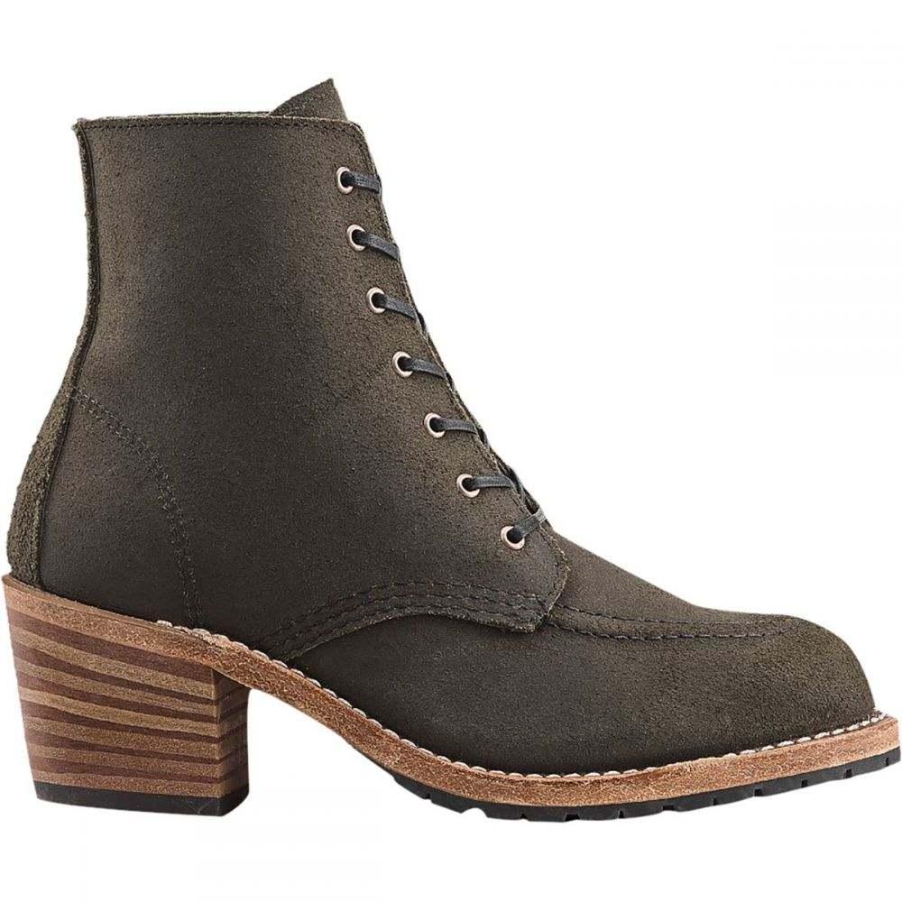 レッドウィング Red Wing Heritage レディース ブーツ シューズ・靴【Clara Boot】Pewter Acampo Leather