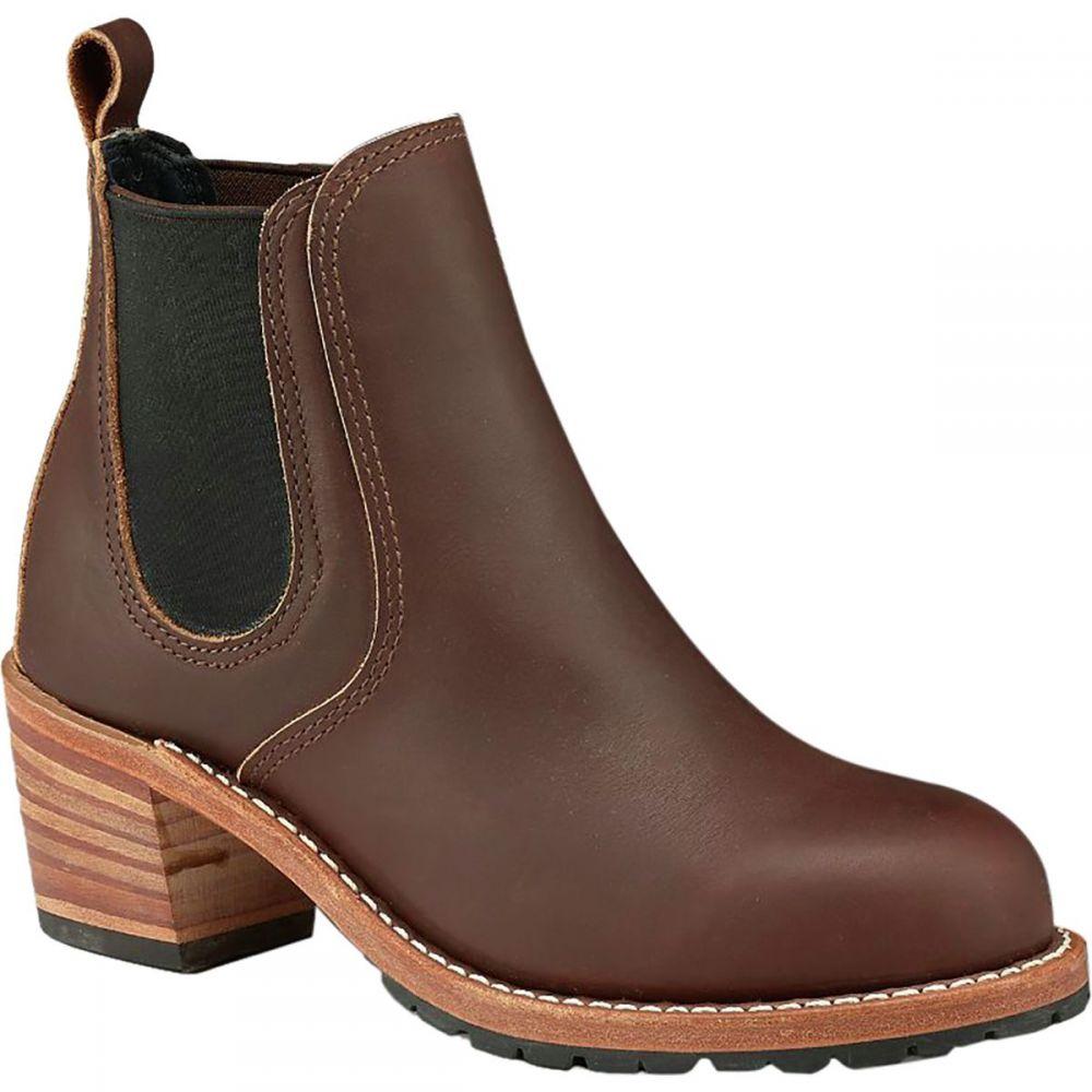 レッドウィング Red Wing Heritage レディース ブーツ シューズ・靴【Harriet Boot】Mahogany Oro-iginal Leather