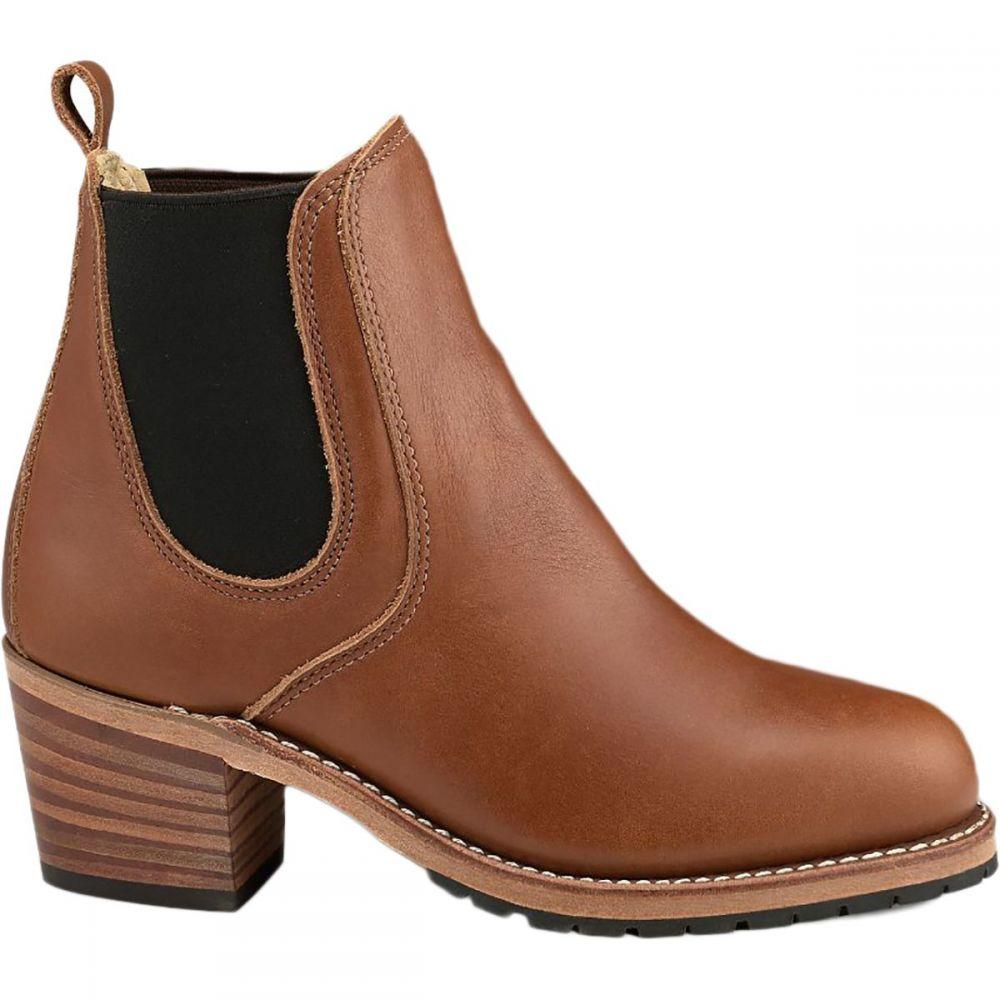 レッドウィング Red Wing Heritage レディース ブーツ シューズ・靴【Harriet Boot】Pecan Boundary Leather