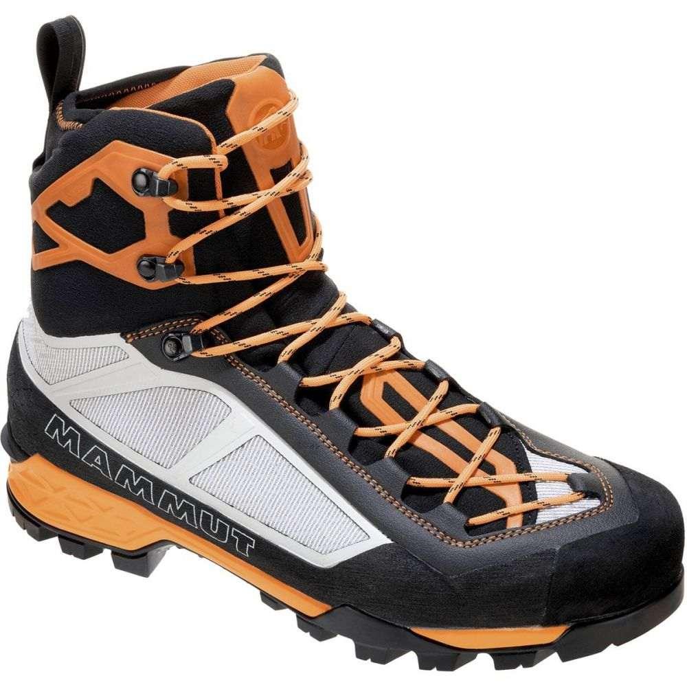 マムート メンズ ハイキング・登山 シューズ・靴 Black/Cheddar 【サイズ交換無料】 マムート Mammut メンズ ハイキング・登山 登山靴 シューズ・靴【Taiss Light Mid GTX Mountaineering Boot】Black/Cheddar