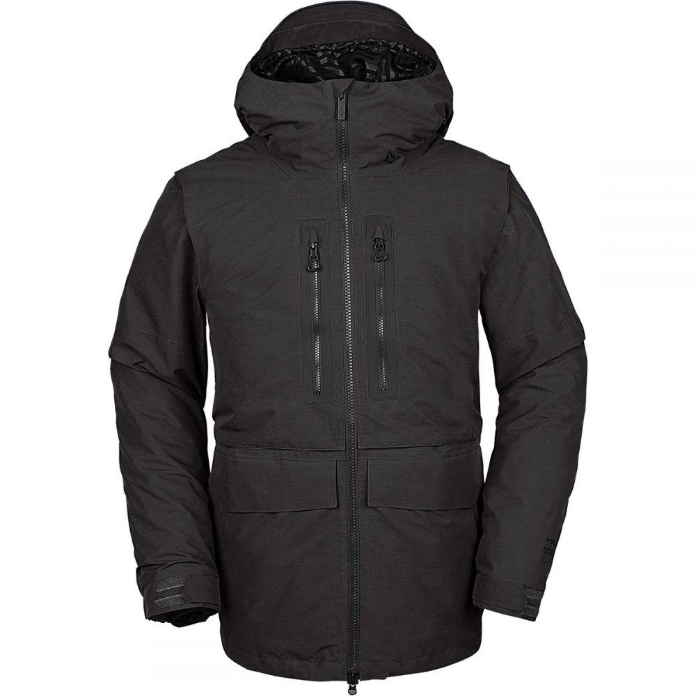 ボルコム Volcom メンズ スキー・スノーボード フード ジャケット アウター【Stone Gore - Tex Hooded Jacket】Vintage Black