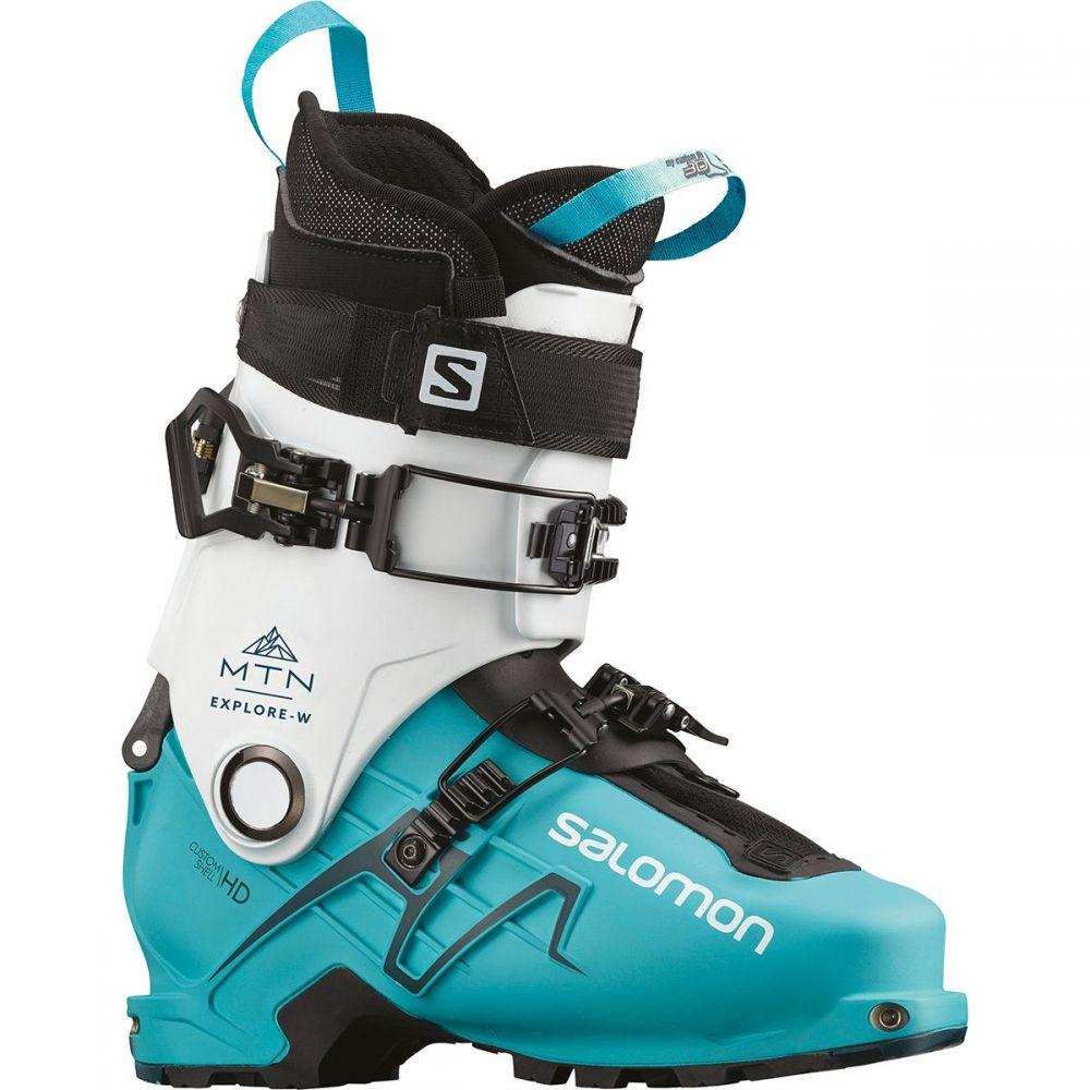 サロモン Salomon レディース スキー・スノーボード ブーツ シューズ・靴【MTN Explore Ski Boot】White/Scuba Blue/Maroccan Blue