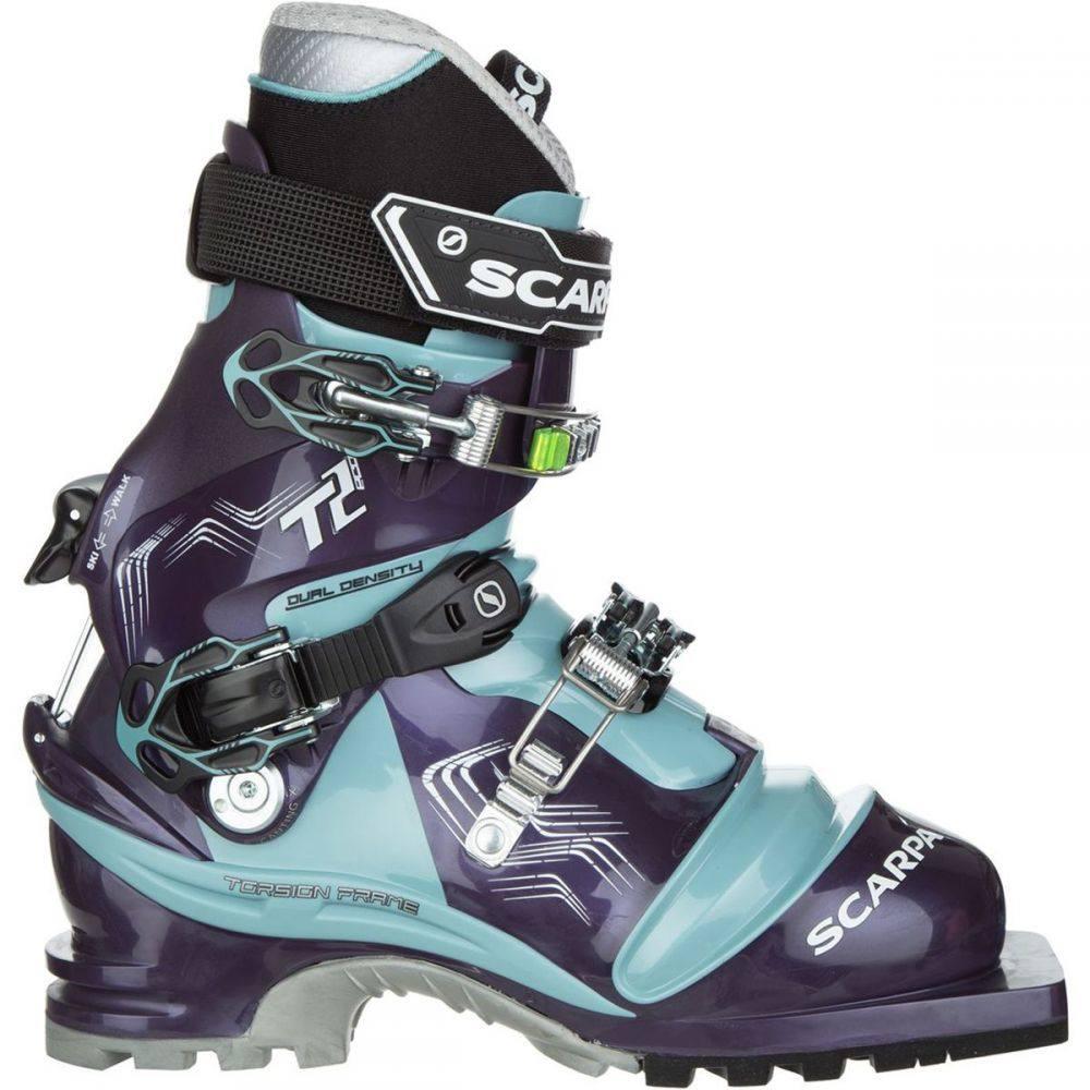 スカルパ Scarpa レディース スキー・スノーボード ブーツ シューズ・靴【T2 Eco Telemark Boot】Bourgogne/Polar Blue