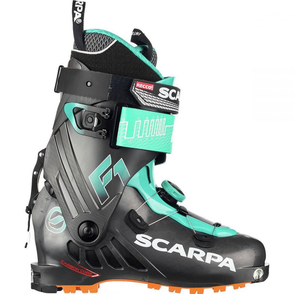 スカルパ Scarpa レディース スキー・スノーボード ブーツ シューズ・靴【F1 Alpine Touring Boot】Anthracite/Lagoon