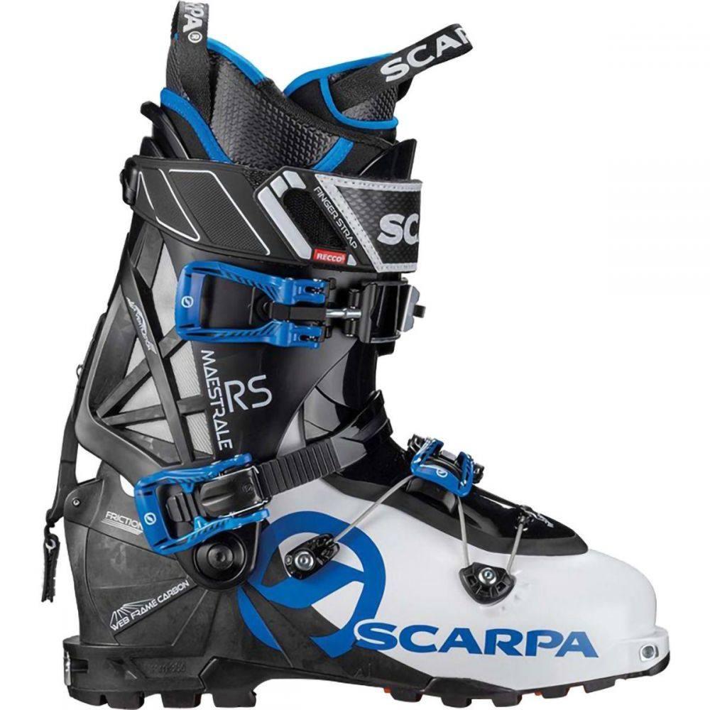 スカルパ Scarpa メンズ スキー・スノーボード ブーツ シューズ・靴【Maestrale RS Alpine Touring Boot】White/Black/Blue