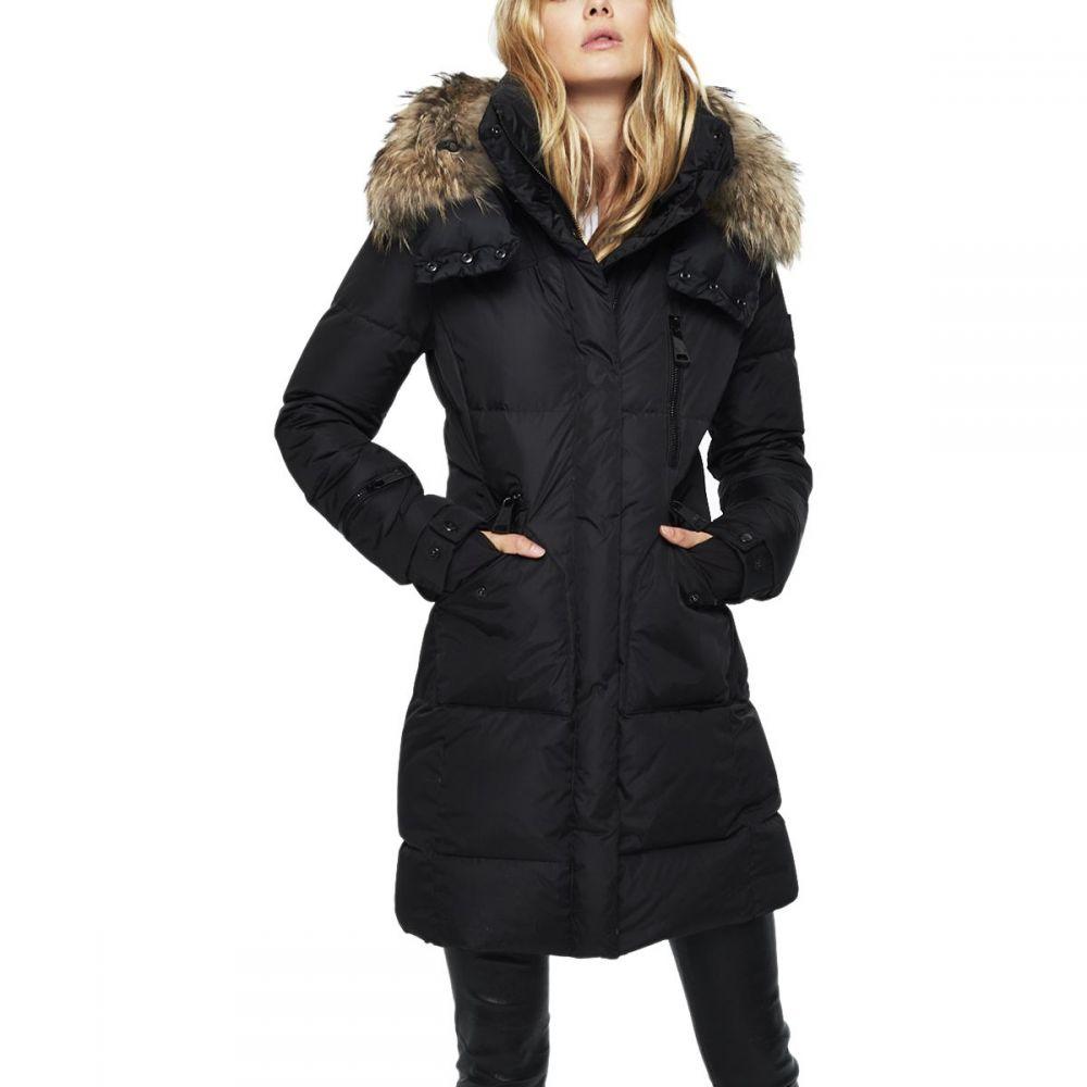 サム SAM レディース ダウン・中綿ジャケット アウター【Fur Highway Jacket】Black/Natural