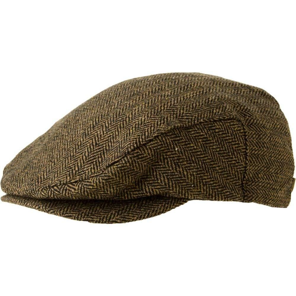ブリクストン Brixton メンズ 帽子 【Hooligan Hat】Brown/Khaki