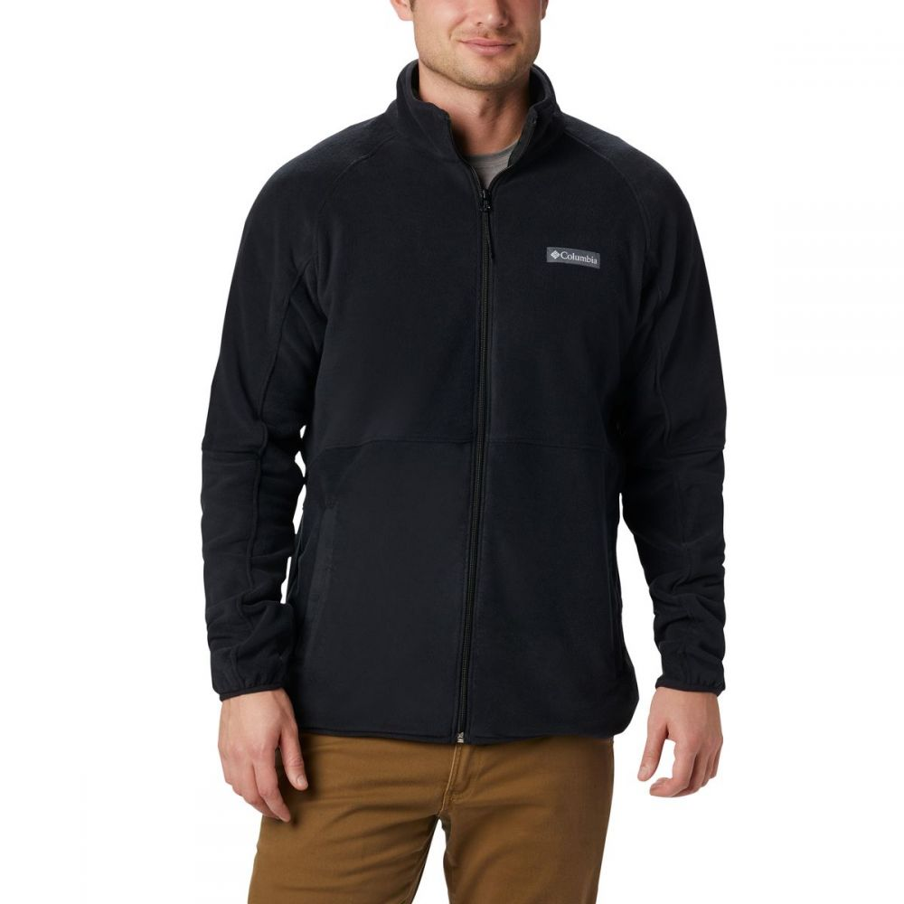 コロンビア Columbia メンズ フリース トップス【Basin Trail Full - Zip Fleece Jacket】Black