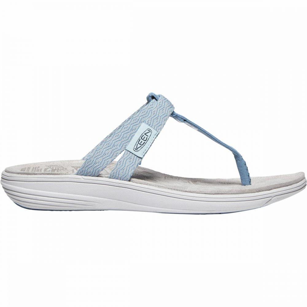 キーン KEEN レディース ビーチサンダル シューズ・靴【Damaya Flip Flop】Sterling Blue/Dress Blue