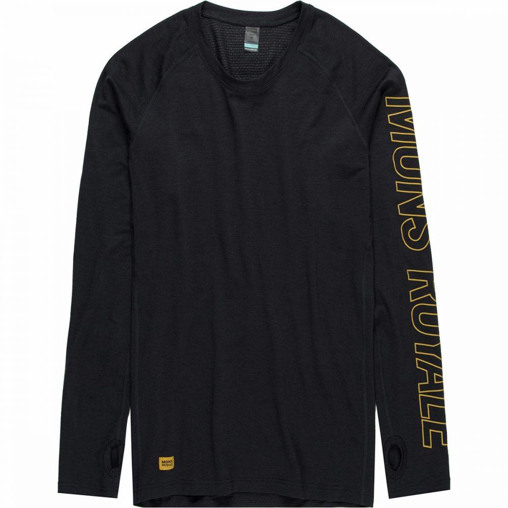 モンスロイヤル Mons Royale メンズ 長袖Tシャツ トップス【Temple Tech Long - Sleeve Shirt】9 Iron