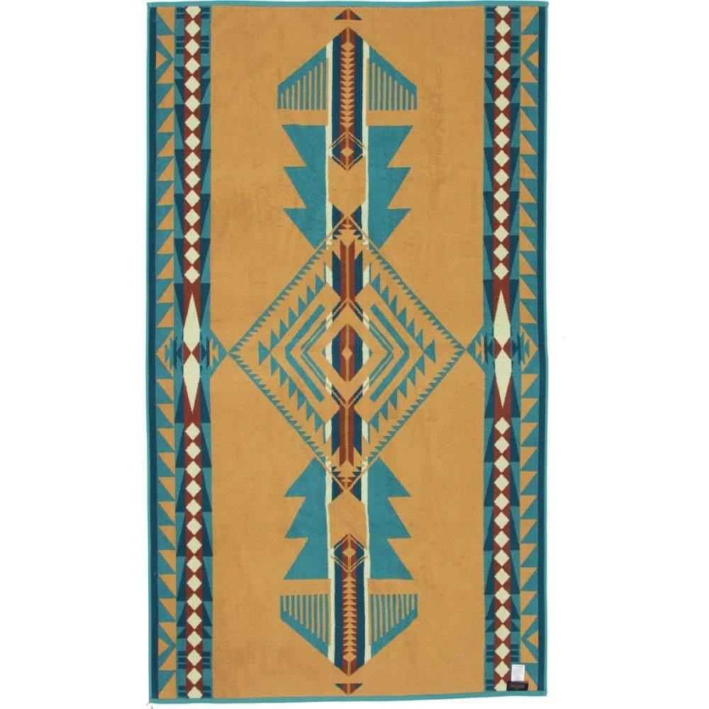 ペンドルトン Pendleton レディース ビーチタオル 水着・ビーチウェア【Oversized Jacquard Towel】Eagle Gift