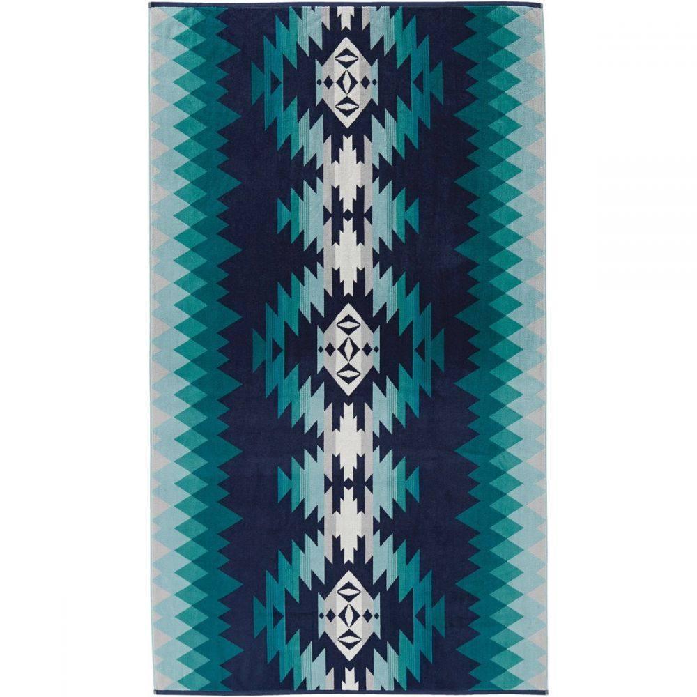 ペンドルトン Pendleton レディース ビーチタオル 水着・ビーチウェア【Oversized Jacquard Towel】Papago Park Turquoise