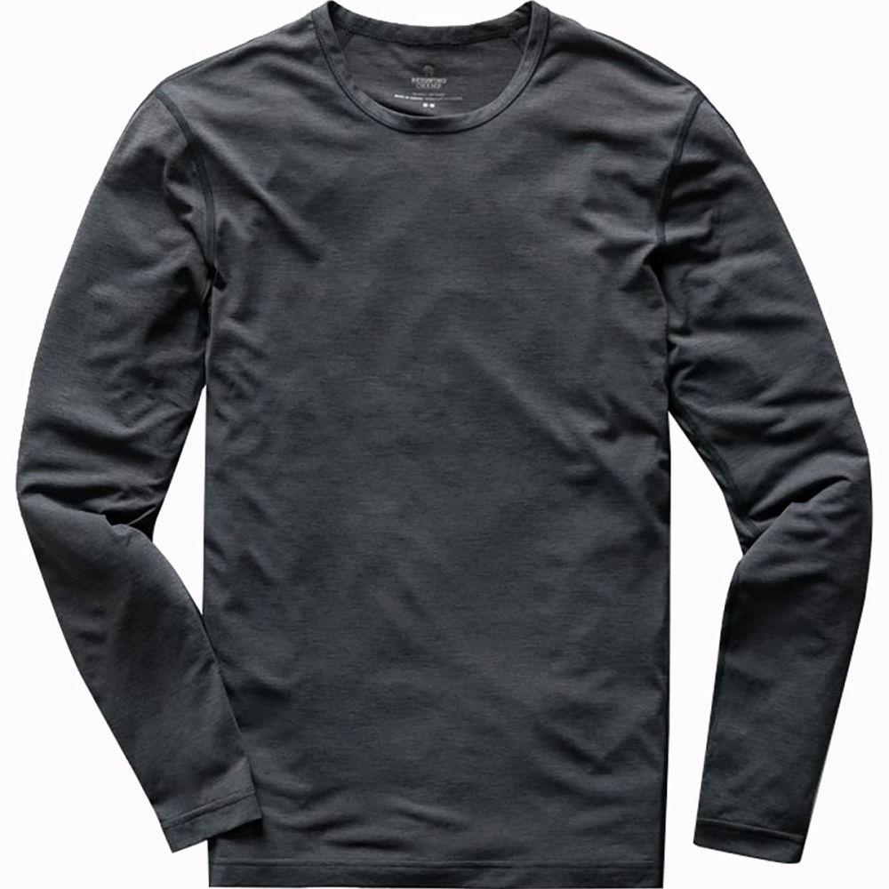 レイニングチャンプ Reigning Champ メンズ 長袖Tシャツ トップス【Training Long - Sleeve Shirt】Charcoal