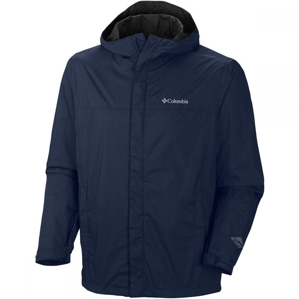 コロンビア Columbia メンズ レインコート アウター【Watertight II Jacket】Collegiate Navy