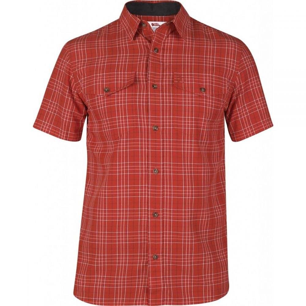 フェールラーベン Fjallraven メンズ 半袖シャツ トップス【Abisko Cool Shirt】Red