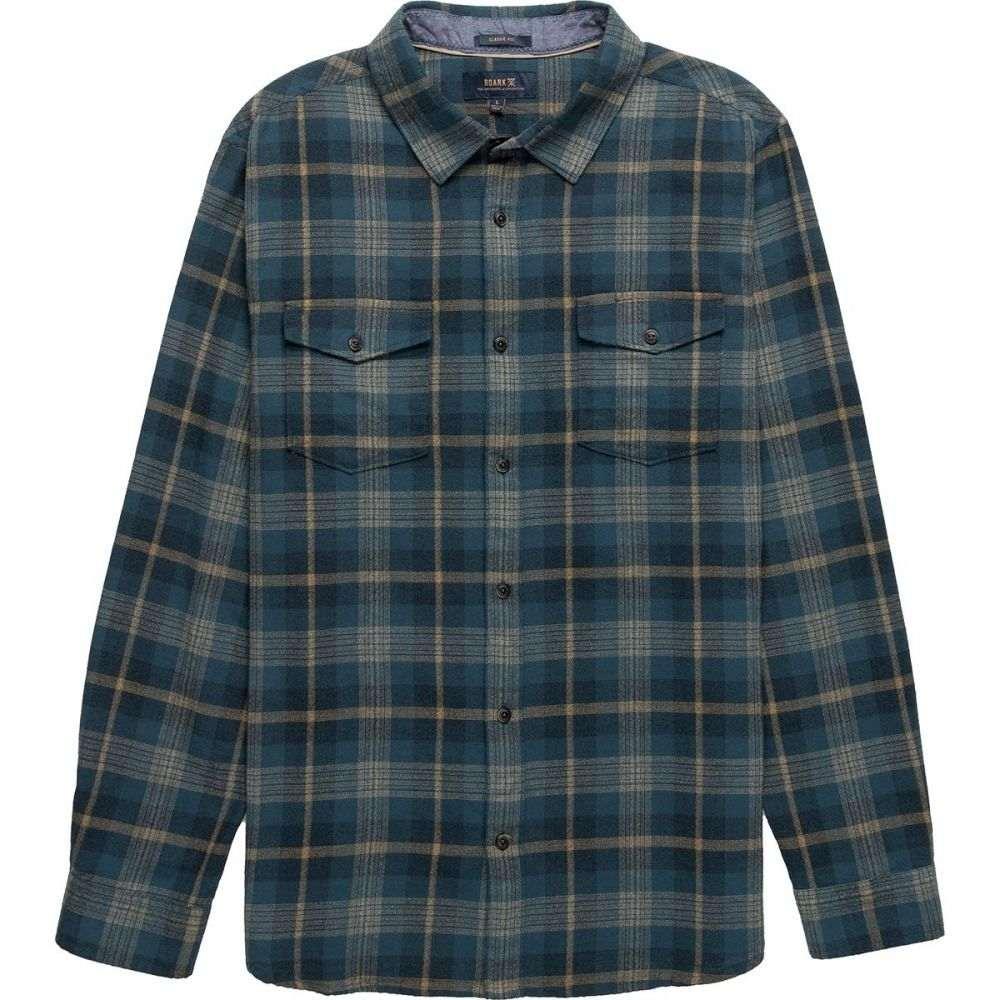ロアークリバイバル Roark Revival メンズ シャツ トップス【Wanch Crepe Weave Shirt】Indigo
