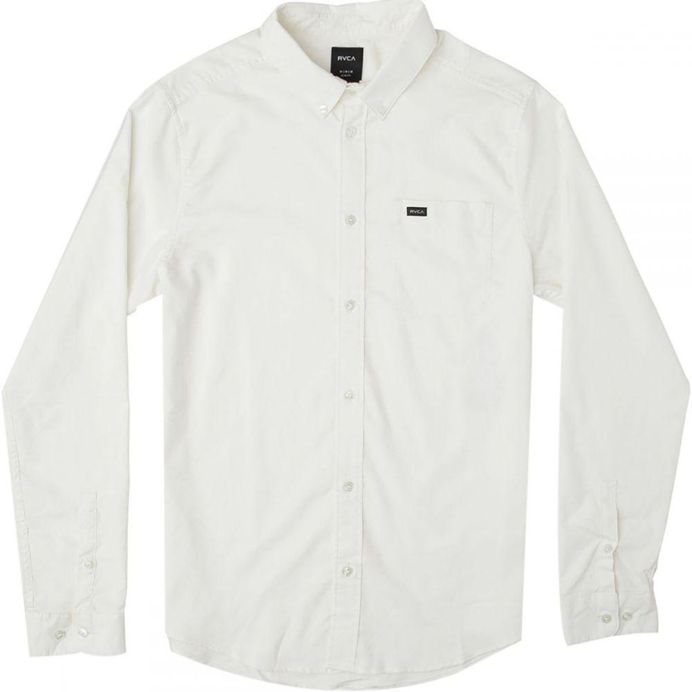 ルーカ RVCA メンズ シャツ トップス【That'll Do Stretch Long - Sleeve Shirt】White
