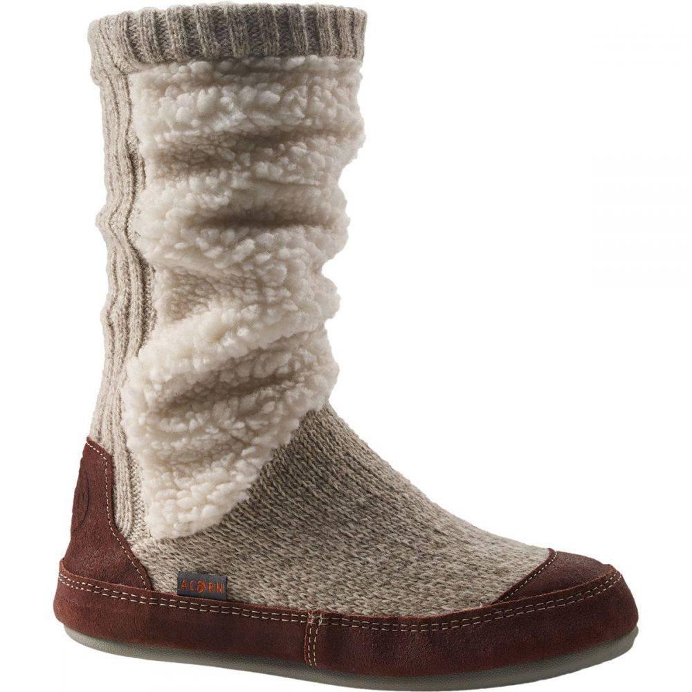 エーコーン Acorn レディース スリッパ シューズ・靴【Slouch Boot】Buff Popcorn