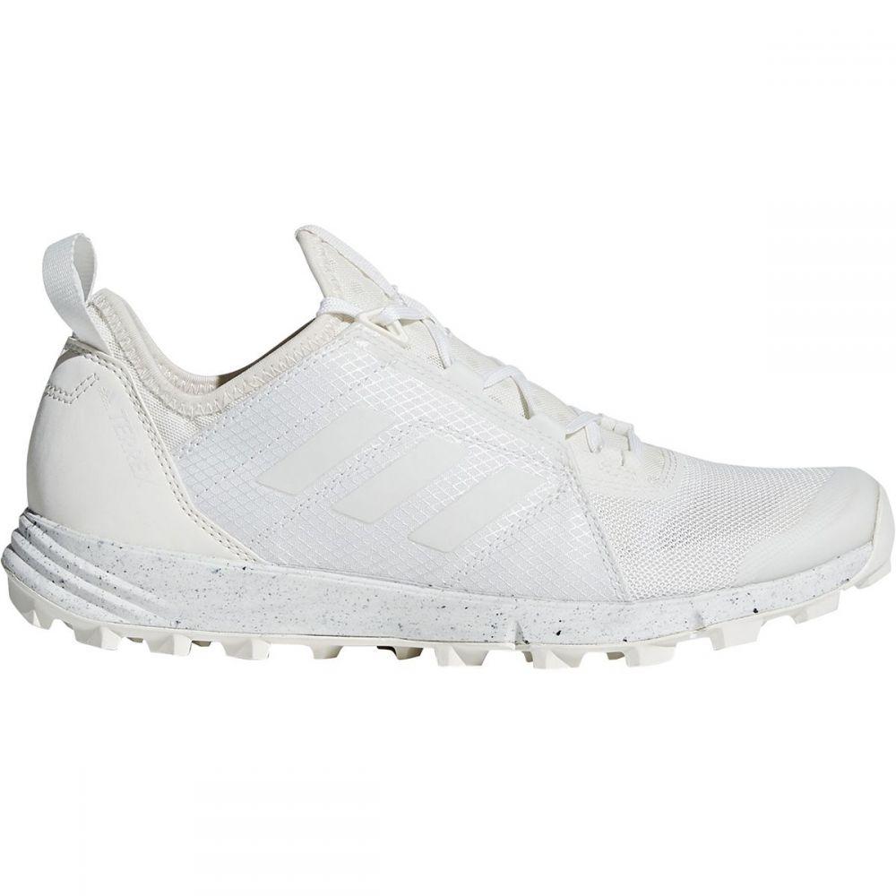 アディダス Adidas Outdoor レディース ランニング・ウォーキング シューズ・靴【Terrex Agravic Speed Trail Running Shoe】Non-dyed/White/Chalk White