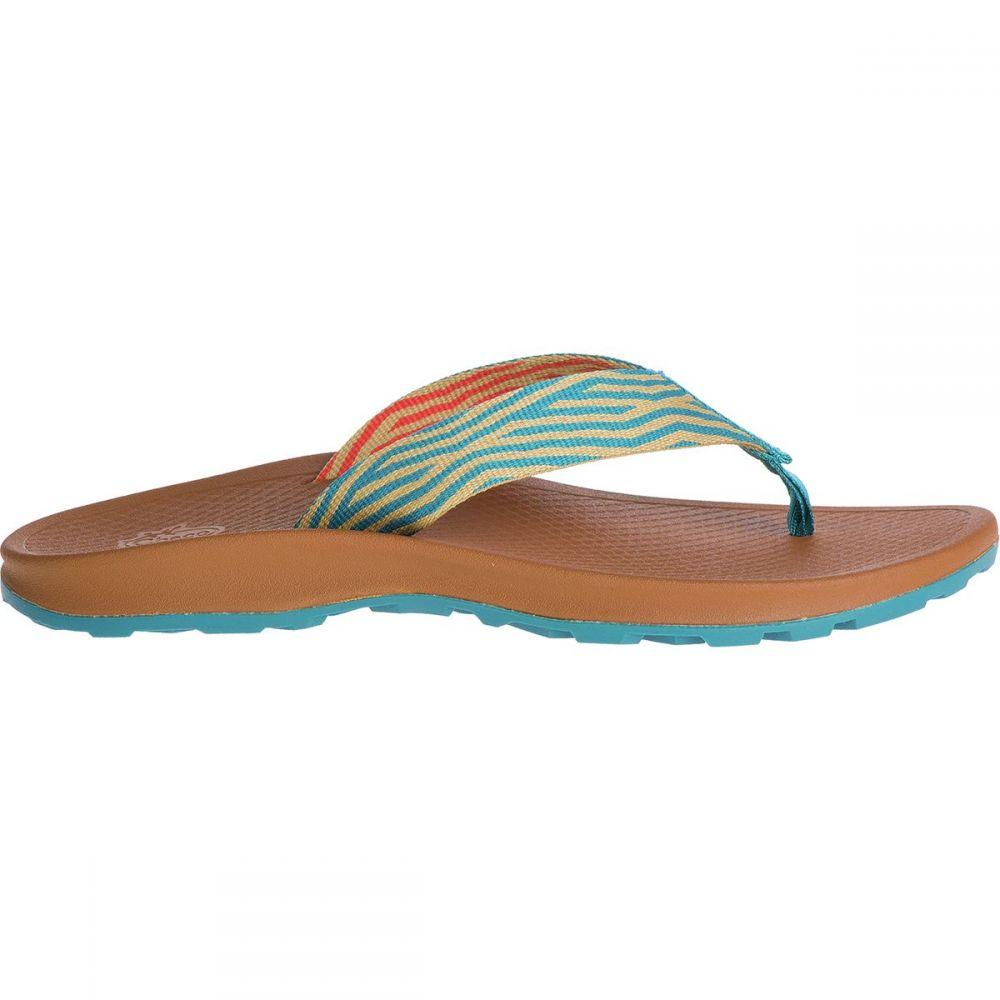 チャコ Chaco レディース ビーチサンダル シューズ・靴【Playa Pro Web Flip Flop】Hash Curry