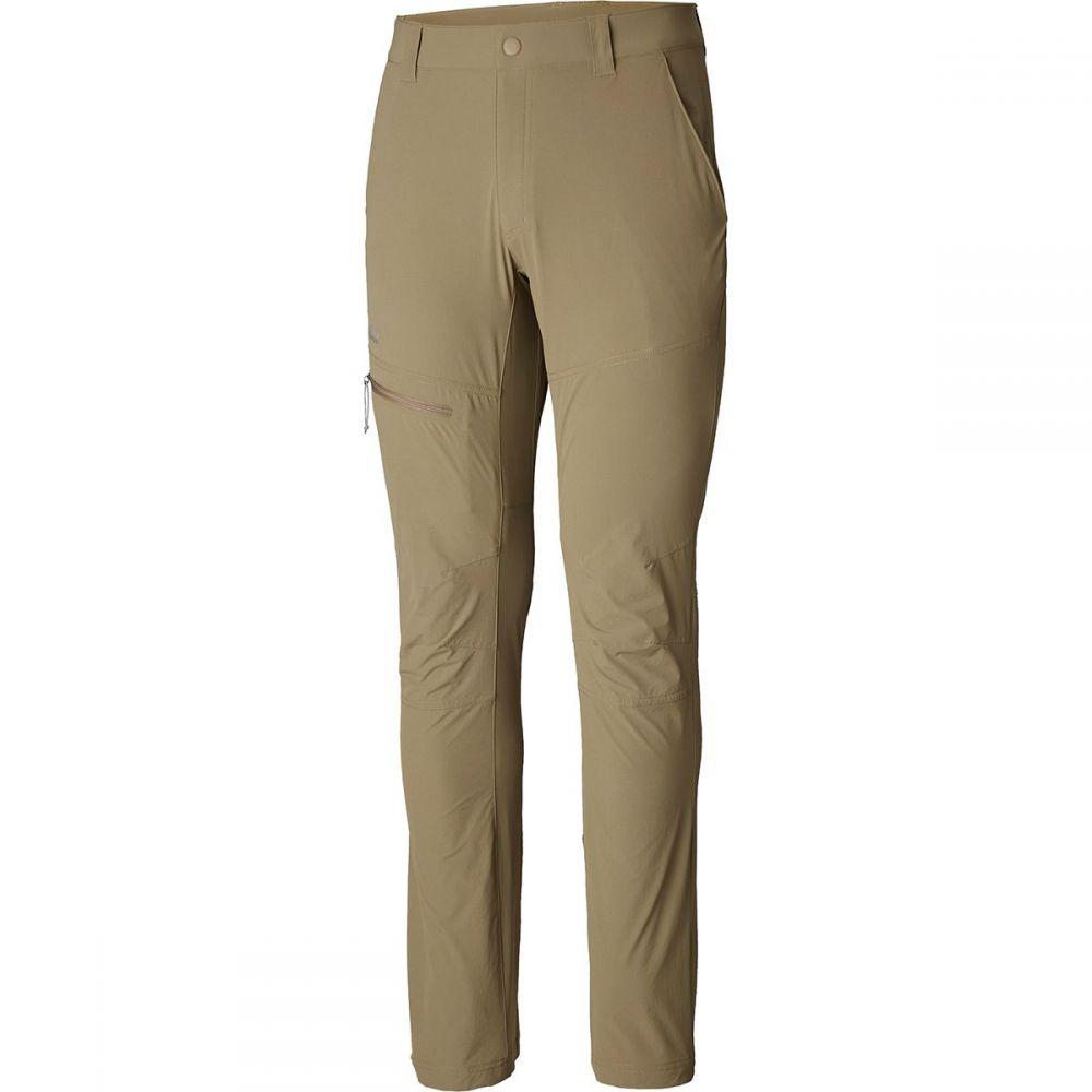 コロンビア Columbia メンズ ハイキング・登山 ボトムス・パンツ【Titanium Featherweight Hike Pant】Flax