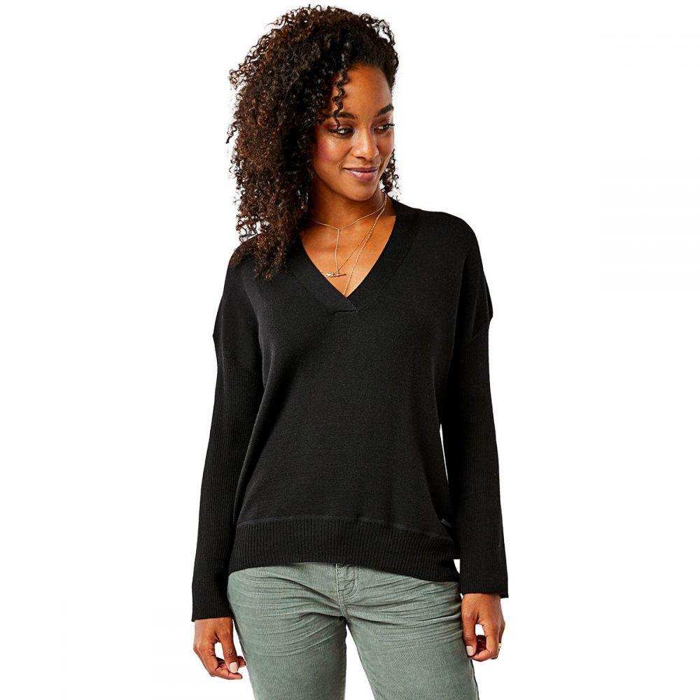 カーヴデザイン Carve Designs レディース ニット・セーター トップス【Aurora Sweater】Black