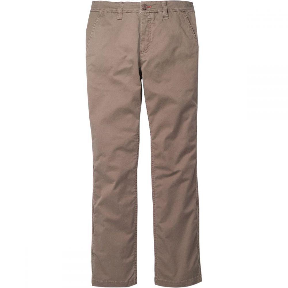 トードアンドコー Toad&Co メンズ ボトムス・パンツ 【Mission Ridge Lean Pant】Dark Chino