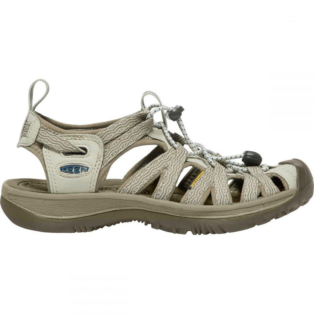 キーン KEEN レディース サンダル・ミュール シューズ・靴【Whisper Sandal】Agate Grey/Blue Opal