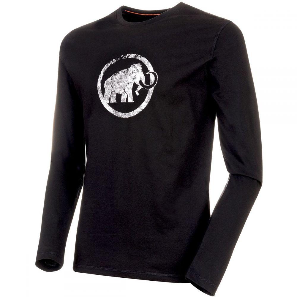 マムート Mammut メンズ 長袖Tシャツ トップス【Logo Long - Sleeve T - Shirt】Black