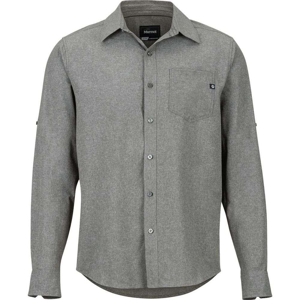YUNY Men Crewneck Pullover Long Sleeve Oversized Down Tops T-Shirt Light Grey M