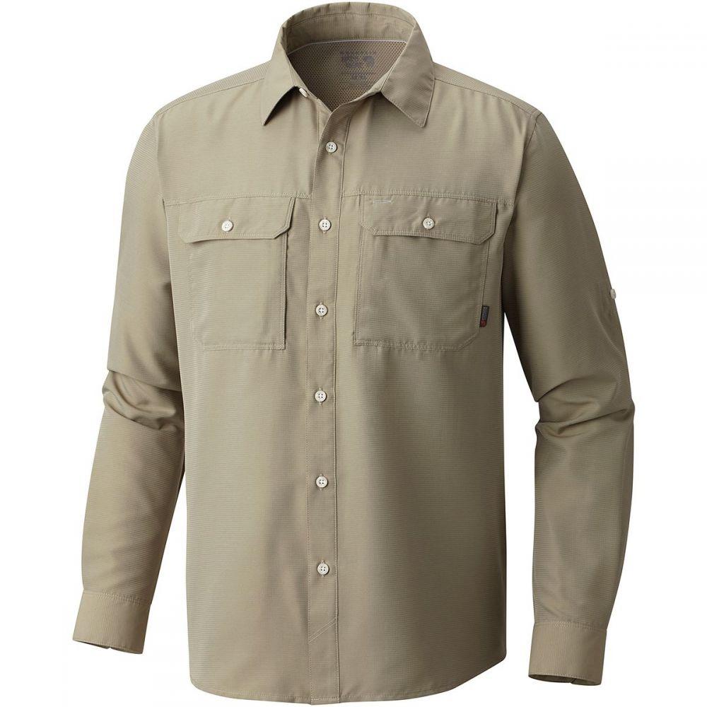 マウンテンハードウェア Mountain Hardwear メンズ シャツ トップス【Canyon Long - Sleeve Shirt】Badlands