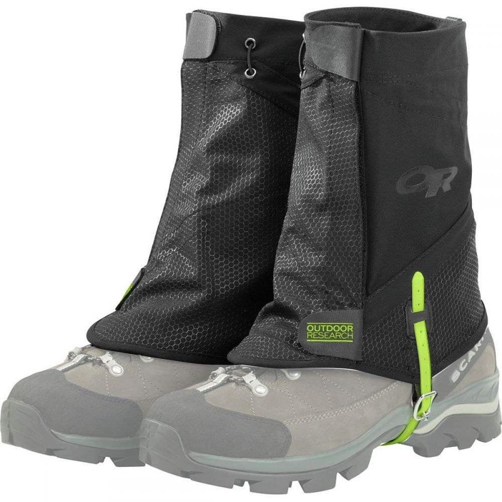 アウトドアリサーチ 正規品送料無料 レディース ハイキング 登山 その他ハイキング 登山用品 Black サイズ交換無料 Research Flex Gaiters ゲイター Outdoor - II お買得 Tex