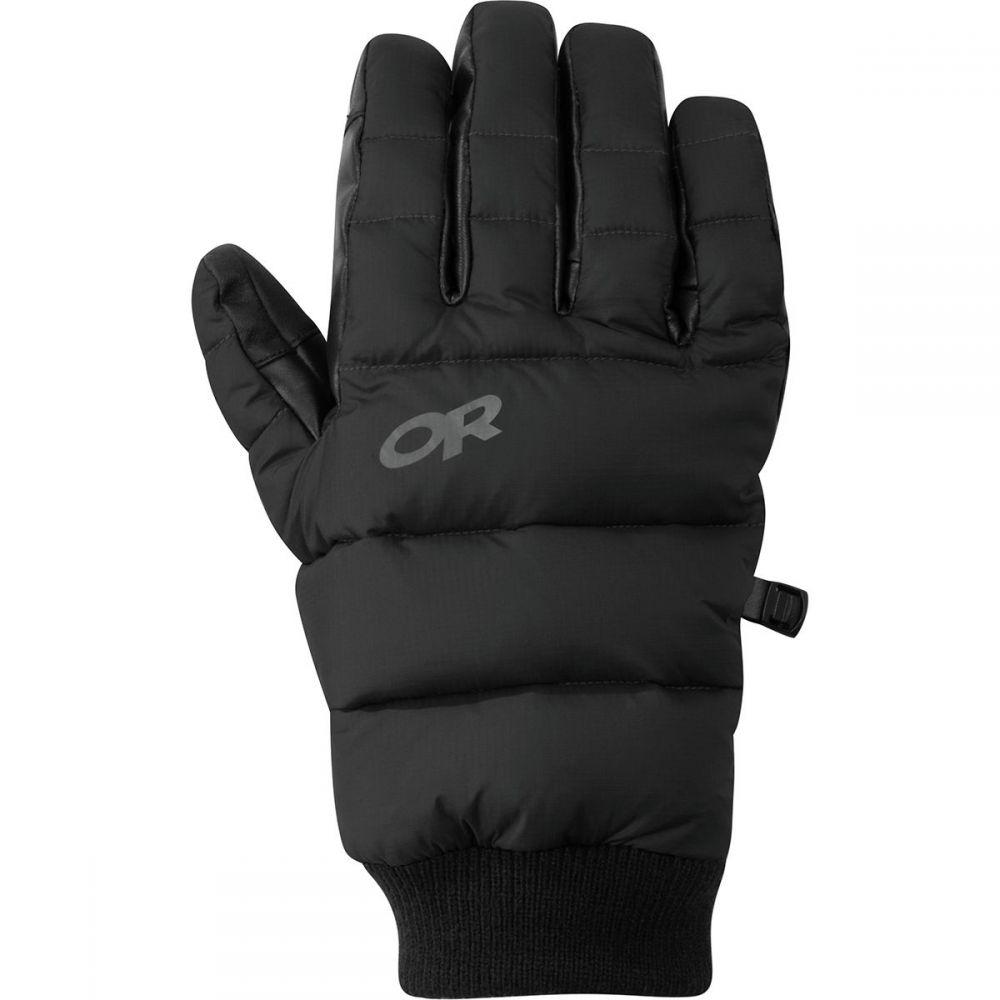 アウトドアリサーチ Outdoor Research レディース 手袋・グローブ 【Transcendent Down Glove】Black