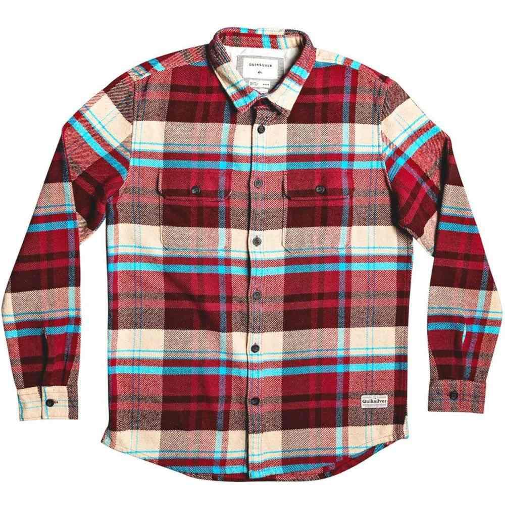 クイックシルバー Quiksilver メンズ シャツ トップス【Howe Waters Shirt】Andorra Howe Waters