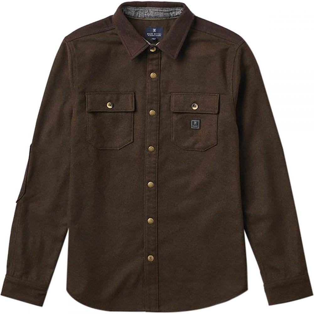 ロアークリバイバル Roark Revival メンズ シャツ フランネルシャツ トップス【Nordsman Flannel Shirt】Mocha